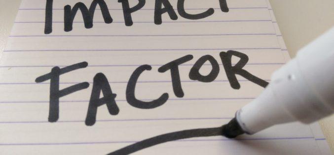 Impakt faktor (Impact Factor, IF) nima?